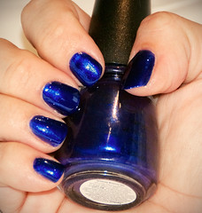 7th inning stretch (Gossamer1013) Tags: blue hands makeup nails icing nailpolish 7thinningstretch allisvanity