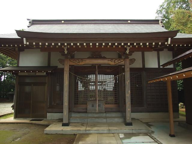 宗像神社 - 千葉県印西市戸神
