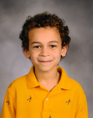 Aidan's Second Grade Picture