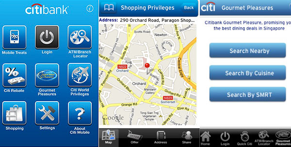 Various dining and shopping privileges with your Citibank cards