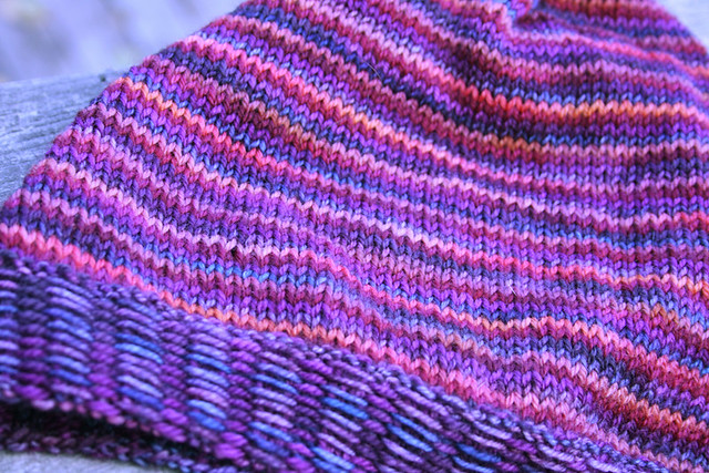 Inside Out Slouchy Hat (wrong side)