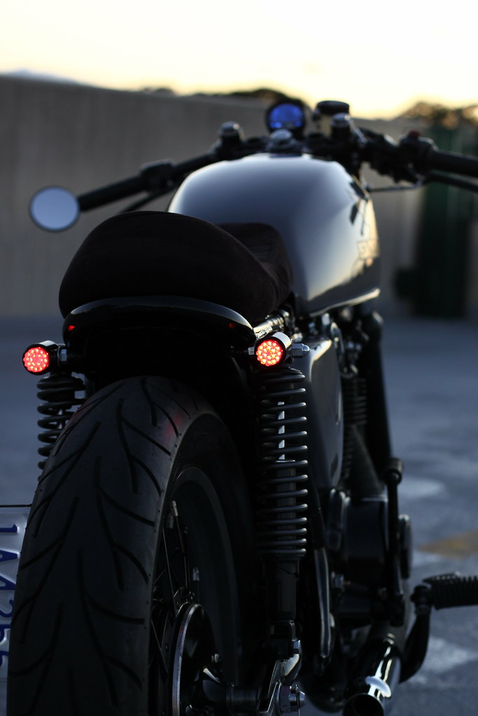 Cafe Racer Tail Light Motorcycle