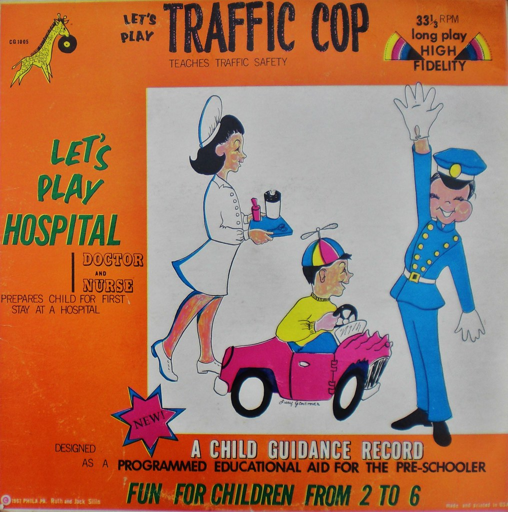 Let's Play Traffic Cop front cover