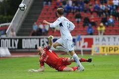 FK Haugesund - Start (Thor Hakonsen - Football) Tags: norway start football soccer fotball haugesund tippeligaen norskfotball fkh sigma120300f28 nikond700 fkhaugesund norwegianfootball thomassrum haugesundstadion