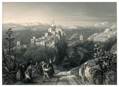 017-Loja-Tourist in Spain-Granada-1835-David Roberts