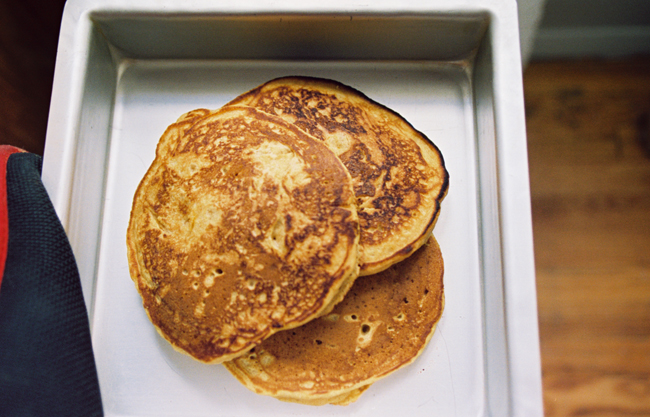 pumpkin pancake heaven