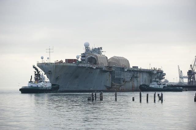 Pier 70 USS Tripoli 10-2010