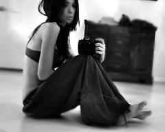 time capsule (nikkidelmont) Tags: portrait bw self mirror nikon nikond90bw nikkdelmont