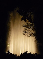 (The Visual Poet) Tags: light water fountain silhouettes badenbaden thefountain jamesrusselllowell