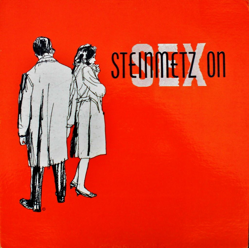STEINMETZ ON SEX front cover