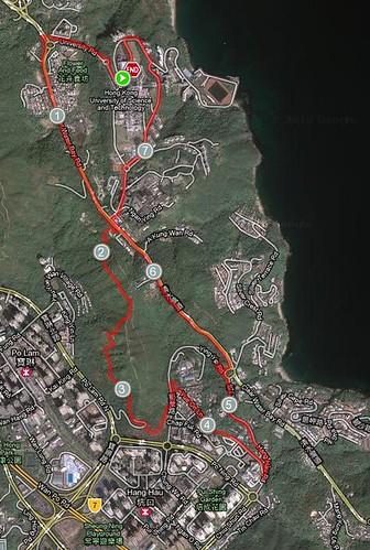 19/10/10 Trail+Road Run