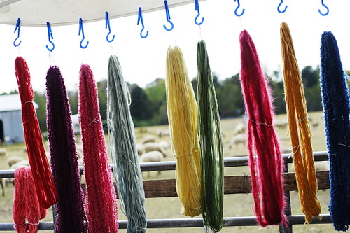 Plant-dyed Wool Yarn