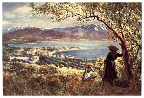 015- Vista general de Ajaccio-Corsica-1909-Edwin A. Norbury