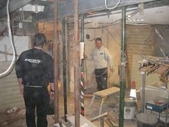 Shop Rebuild 2010 (Speeds Cycles, Bromsgrove) Tags: building bikes refit speedscycles