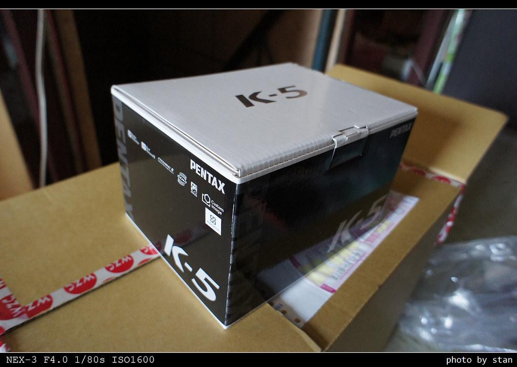 Pentax K-5 晚一步的開箱與一些照片