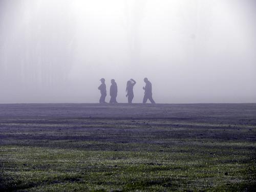 October mist and moisture