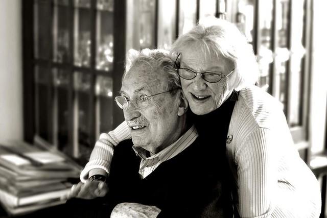 Harry Weber y su mujer Marianne. Foto braquarius