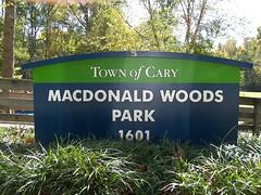 MacDonald Woods Park