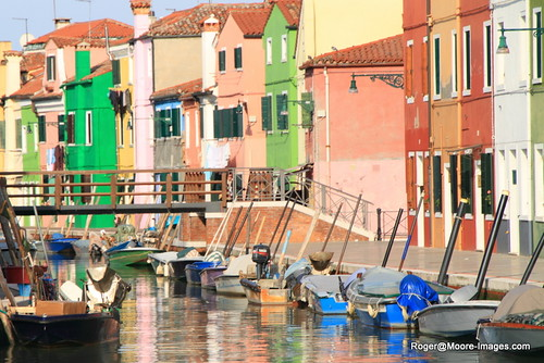Colorful homes of Burano