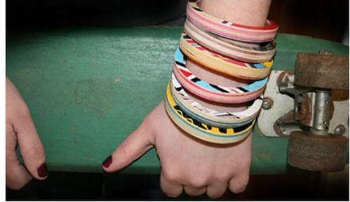 Accesorios para mujer, joyas recicladas de Sevenply
