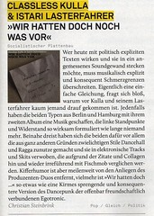 classless Kulla istari Lasterfahrer Review in der Intro