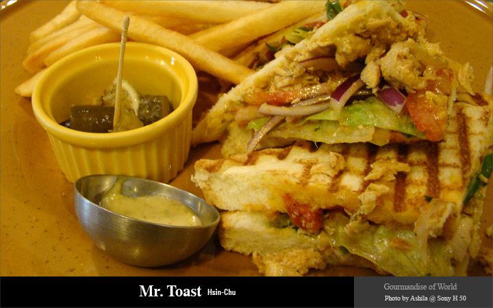 Mr. Toast / 土司先生