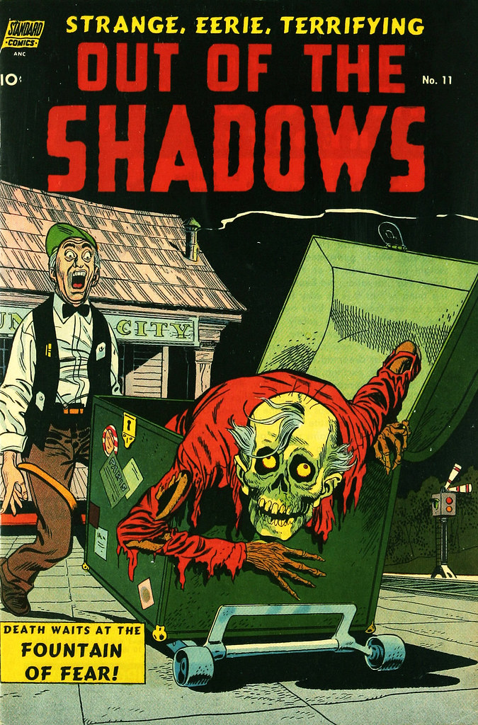 Out Of The Shadows #11 Ross Andru Cover Art(Standard, 1954)