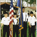 Color Guard at 2003 Graduation