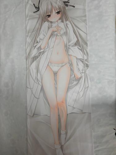 コミケ78春日野穹抱き枕カバー1