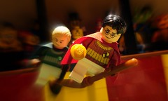 Harry Potter (Profound Whatever) Tags: film movie lego harry potter scene minifig quidditch moviescene