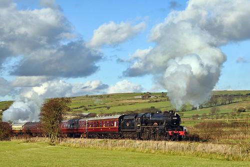 George Stephenson (geoffspages) Tags: railway steam georgestephenson uksteam cauldonlowe