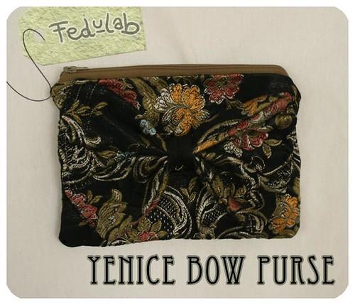 Yenice bow purse