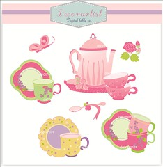 Tea Party Images Clip Art Graphics clipart teaparty