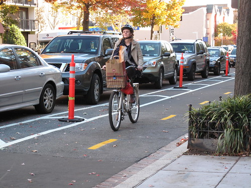 15th St bike lane in use