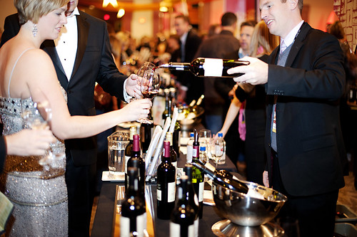 Vast array of wines to taste during CRUSH
