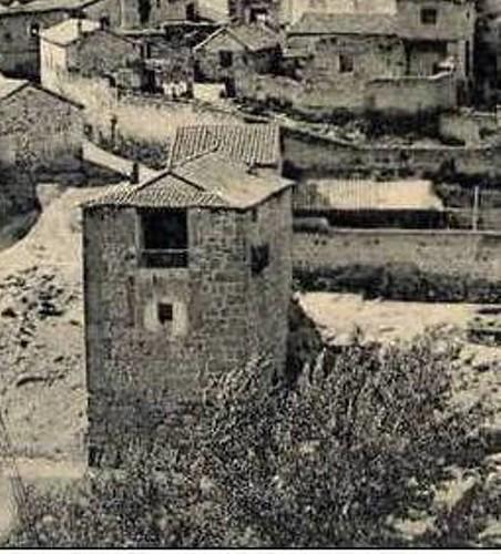 Torre del Hierro a inicios del siglo XX