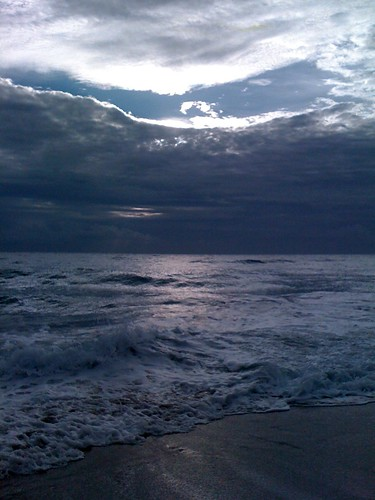 Sunlight on ocean