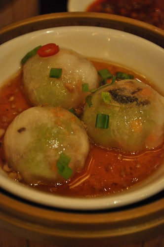 Steamed Scallop and Scrambled Egg White Dumpling