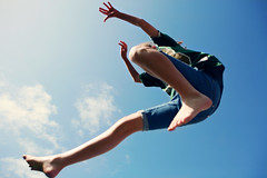 0833jumper3 (scoopsafav) Tags: blue sky girl kids clouds fun fly kid jump jumping action air trampoline leap leaping leighduenasphotography