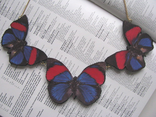 Butterfly Necklace by Handmade and Heritage