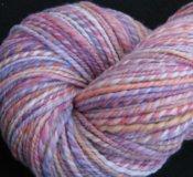 """4.4 oz 2 ply Hand Spun Aran Yarn 100% Merino Wool """"Playtime"""""""