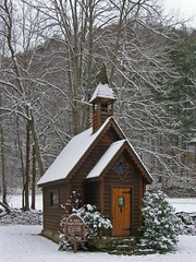 St Jude's Chapel of Hope (kasiahalka) Tags: snow nc trust springcreek chapelofhope stjudeschapelofhope