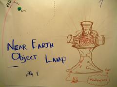 Near Earth Object Lamp