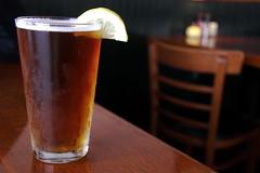 Autumn Wheat Microbrew at Mohegan Cafe & Brewery - Block Island, RI