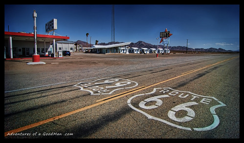 Roy's Cafe, Amboy, California