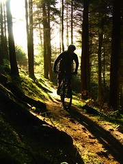 Ready break man? (addypope) Tags: winter orange bike scotland ride mud dirt mtb blizzard mates 7stanes innerleithan addypope