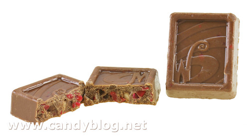 Wonka Exceptionals Peppermint Shortbread Chocolate Pieces