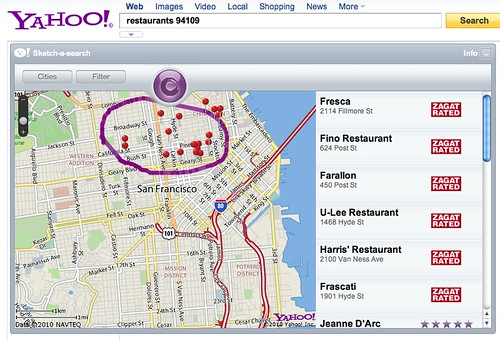 Yahoo's Sketch-A-Search App