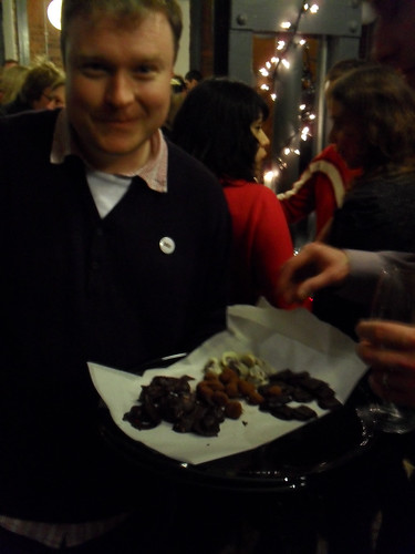Dock Street Market Launch - Mike Wallis and chocolate