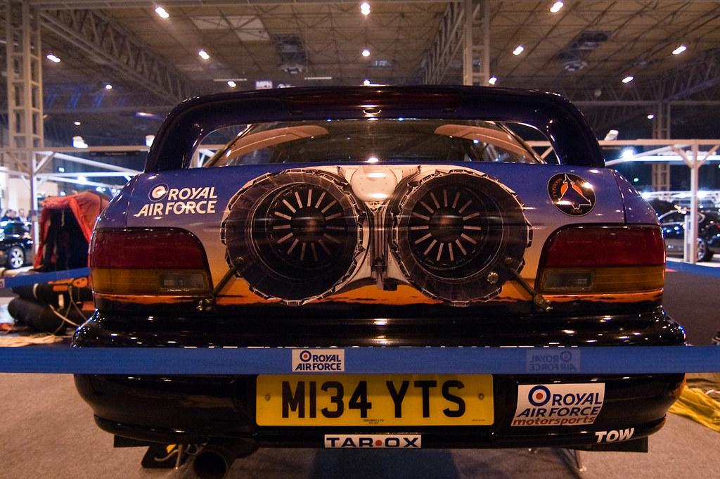 Jet powered Subaru Impreza